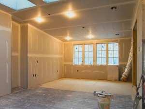 обшивка гипсокартоном комнаты в квартире