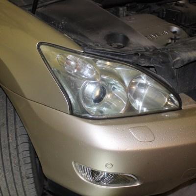 Lexus RX 300 — замена модулей на биксенон Hella 3R