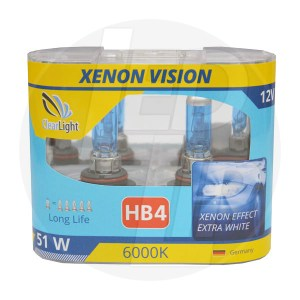 Галогеновая лампа ClearLight XENON VISION HB4 12V-55W