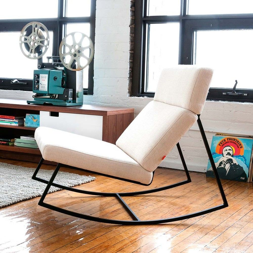 modern and comfortable rocker.