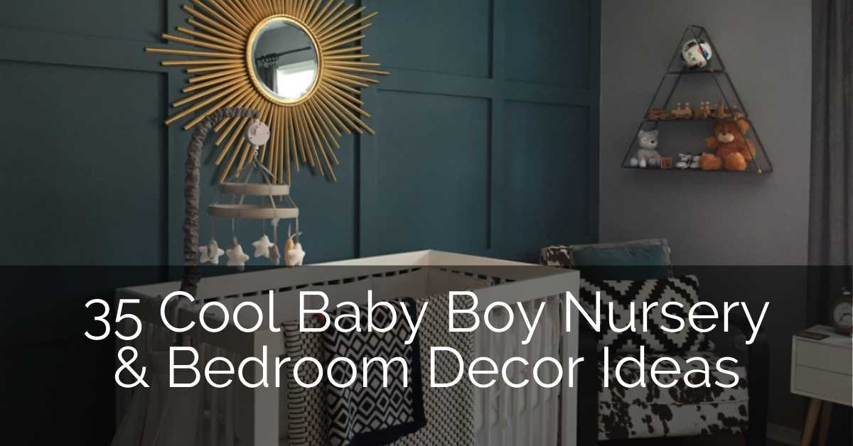 35 Cool Baby Boy Nursery & Bedroom Ideas – GLAMO Light Mirrors India.
