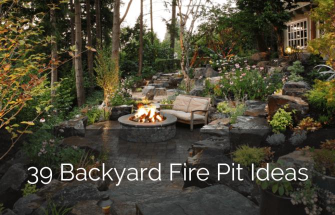 39 Backyard Fire Pit Ideas Design Trends – GLAMO Light Mirrors India.