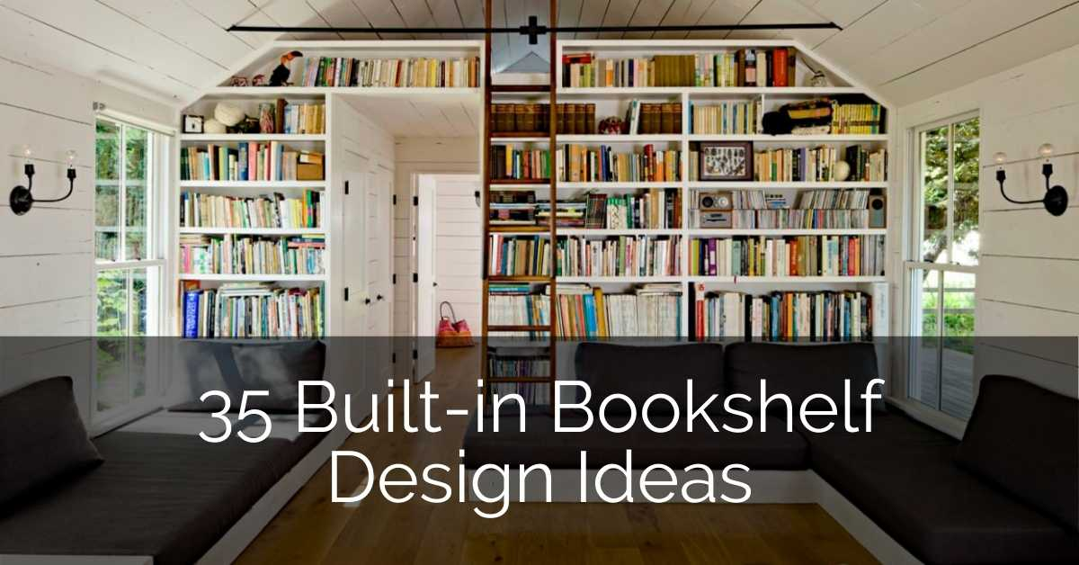 35 Built-In Bookshelves Design Ideas – GLAMO Light Mirrors India.