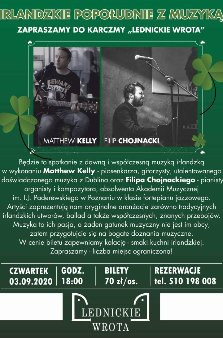 2020.09.03 Popołudnie z muzyką irlandzką