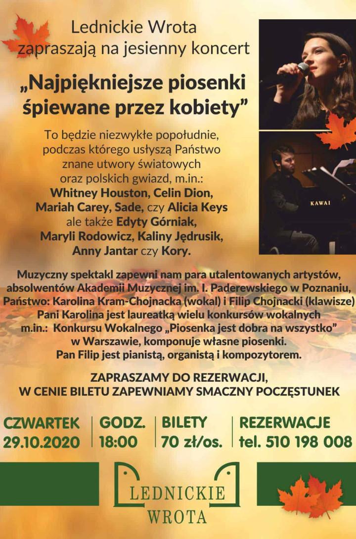 2020.10.29 Jesienny koncert