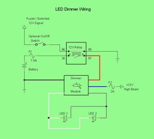 Dimmer Wiring | LED Rider