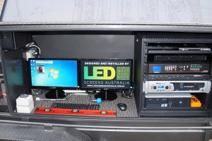 LED Screens Australia new Portable LED Screen construction
