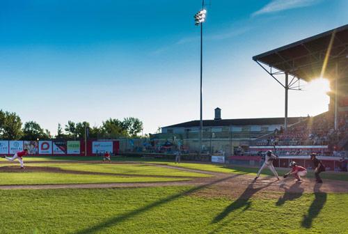 baseball field lighting cost
