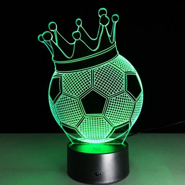 3D светильник Мяч с короной