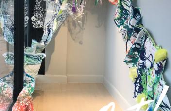 Fade Out | Mixed media installation | Lori Edwards artist