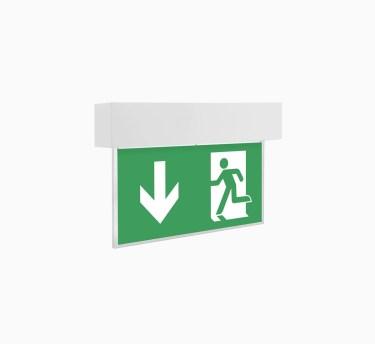 Аварийный светильник с пиктограммой выход ledz e-Exit для эвакуации людей. Купить аварийный светильник в Минске и Москве. Звоните нам!