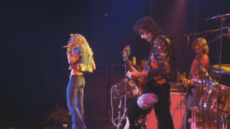 The full soundboard recording of Led Zeppelin's September 29, 1971