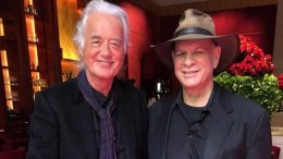 Jimmy Page and Jeff Curtis