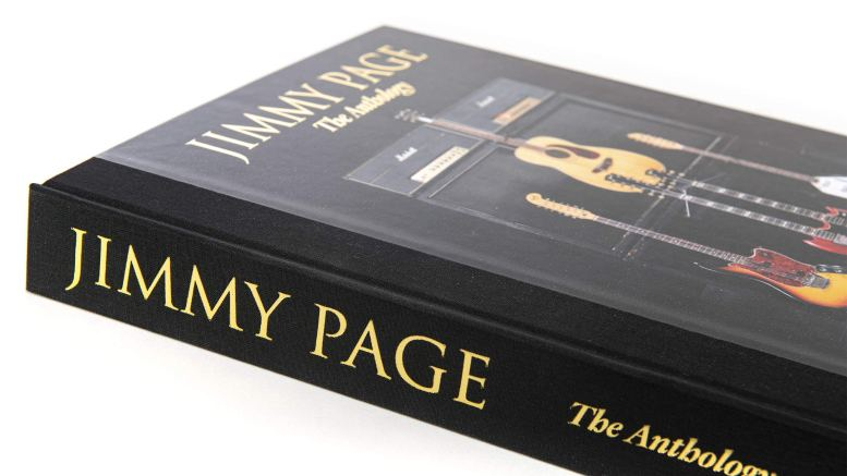 Jimmy Page Anthology spine