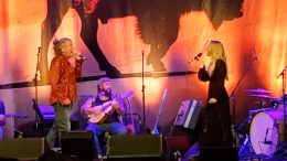 Robert Plant performing with Saving Grace on July 24
