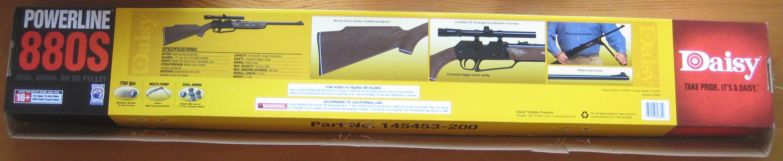 Daisy Powerline 880 scope manual
