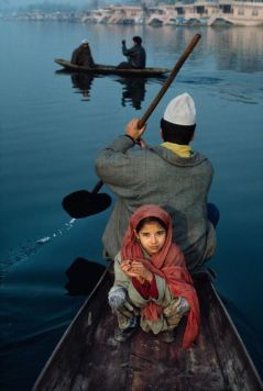 Dal Lake, Srinagar, Kashmir by Steve McCurry