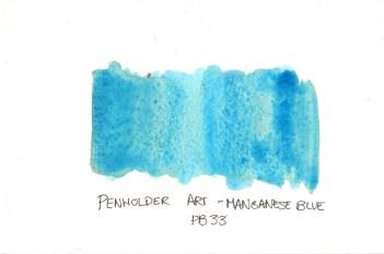 Manganese Blue Penholder