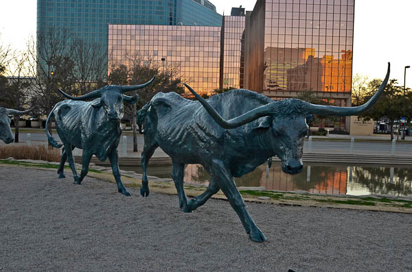 Pioneer Plaza Downtown Dallas