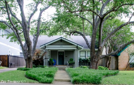 Dallas Landscape Design: Vickery Park Original Dallas Neighborhood