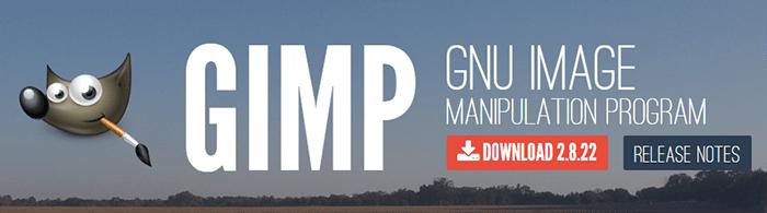 How to start a gardening blog: photo editing software GIMP