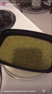 Creamy Kale Pesto Pasta