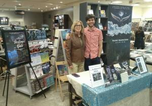 Coauthors J.R. and Lee pictured at Indigo Bay Bloor book signing, March, 2016.
