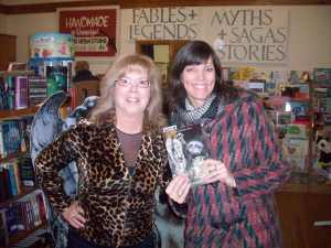 Stefanie Cole, Teacher-Librarian, From Quaker Village Public School, Taken at Blue Heron Books