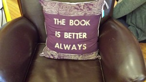 Authors and book lovers will declare THE BOOK IS BETTER ALWAYS
