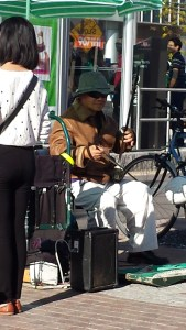 Beautiful music created by this Street Musician in Toronto, WOTS.