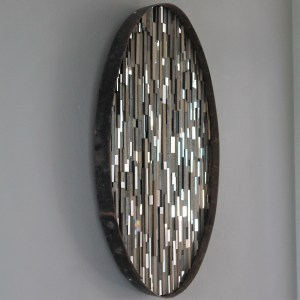 Whiskey Hoop Mirrors - Sculptural Artwork by Lee Borthwick
