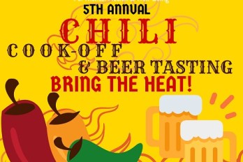 Bring the Heat – 5th Annual Chili Cook-off Friday March 6th