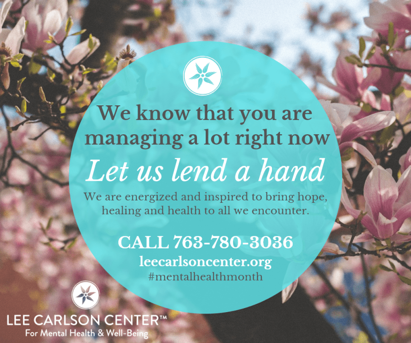 We are energized and inspired to bring hope, healing and health to all we encounter.