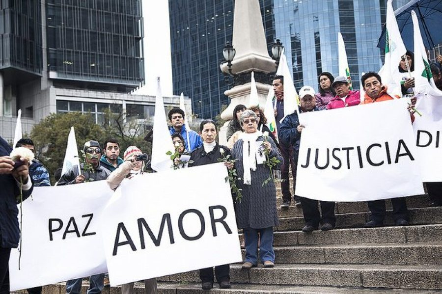 Movilización global por Ayotzinapa