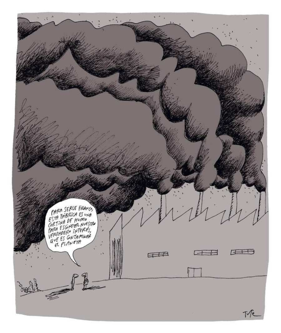 Tue Greenpeace.