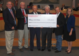 Lee College thanks LCDC