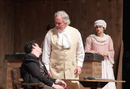 Scott Sheley as Dr. Livesey in Treasure Island