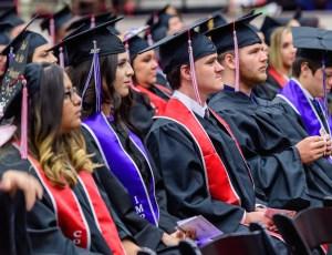 Lee College 10 a.m. Graduation ceremony