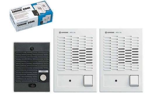 Aiphone C-123LW Dual Master Intercom Kit