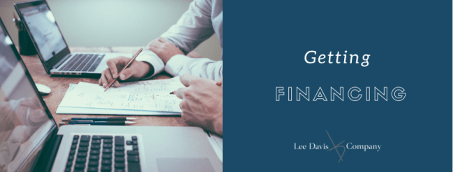Getting Financing