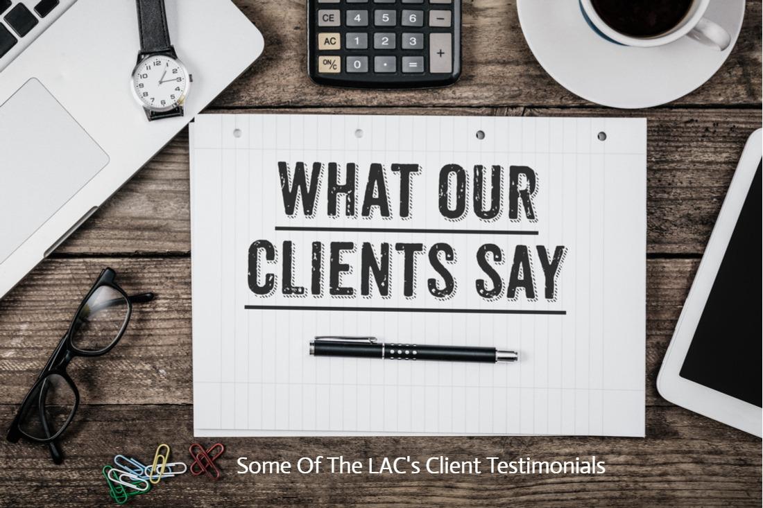 LAC Testimonials