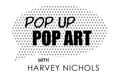 Pop-Up Pop-Art with Harvey Nichols