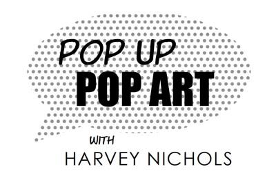 Pop-Up Pop-Art with Harvey Nichols