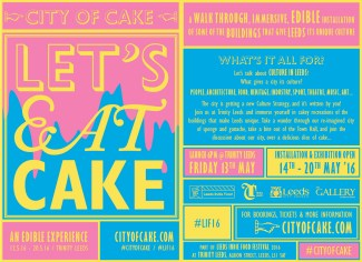 City Of Cake Flyer