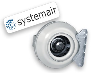 Systemair RVK Fan