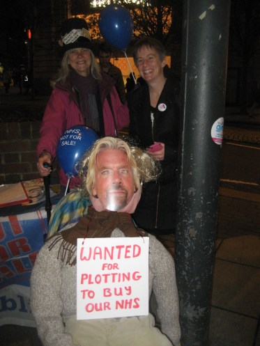 KONP plot aginst the NHS protest 5.11.13 020