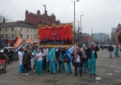 GMB Doctors and nurses in scrubs
