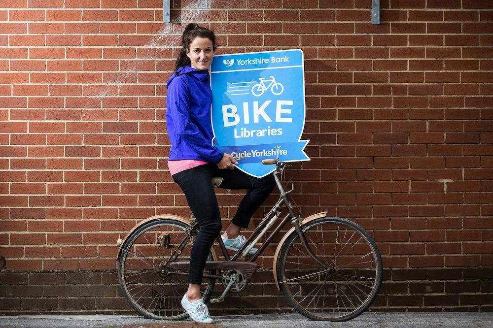 Lizzie Armitstead Yorkshire Bank's Bike Library