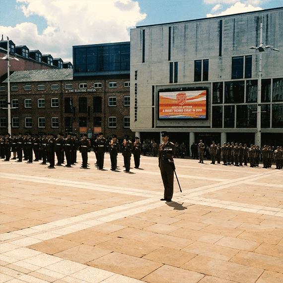 Rifles Regiment Leeds