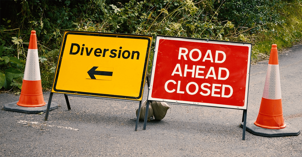 Leeds Road Closed